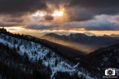 Tramonto in Val Vobbia