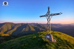 Tramonto sul monte Proventino